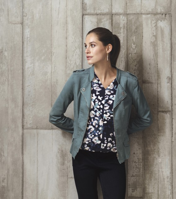 W21 114 Deanny top, W21 102 Moda jacket, W21 108 Line jeans